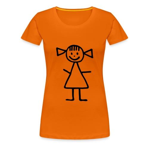 Strichmädchen Shirt - Frauen Premium T-Shirt