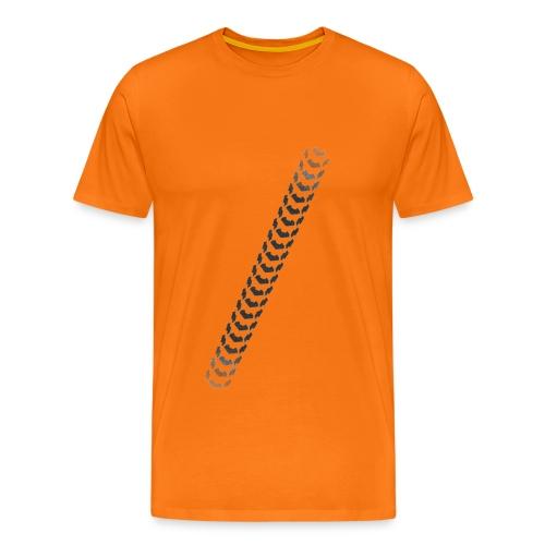 Bicycle Tread 5 - Men's Premium T-Shirt