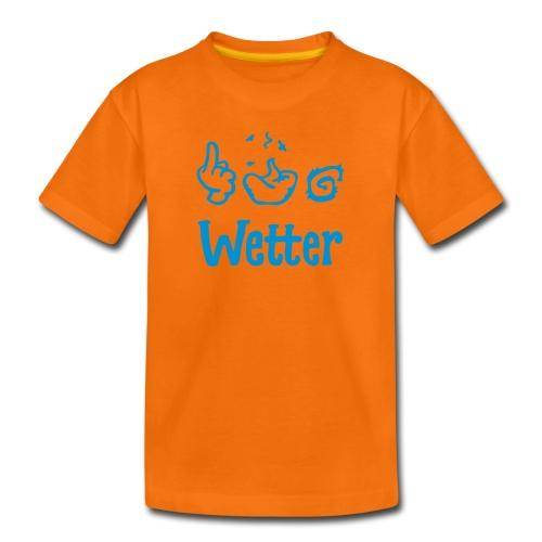 §#&! Wetter - Teenager Premium T-Shirt