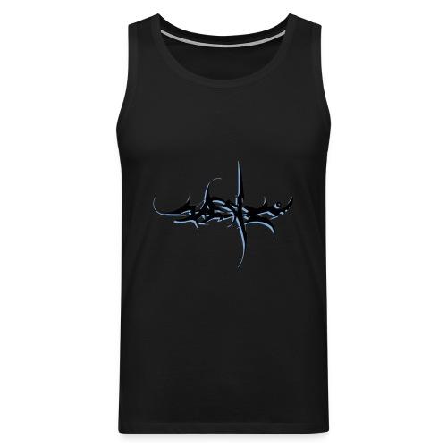 Graffiti tshirt J1-2011A design - Men's Premium Tank Top