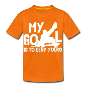 My Goal is to Deny Yours Children's T-Shirt - Teenage Premium T-Shirt