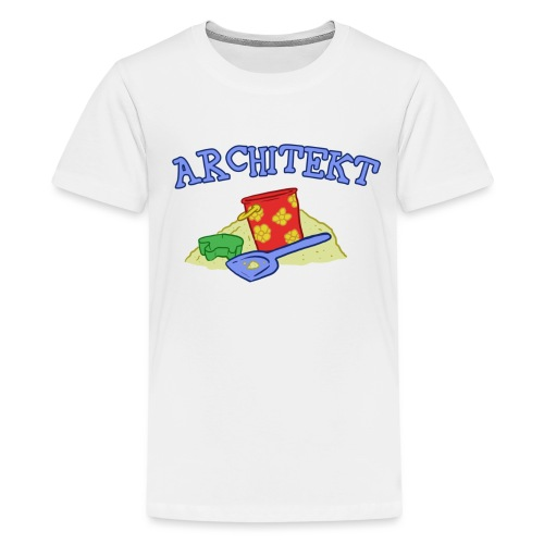 Mein Kind wird... Architekt! - Teenager Premium T-Shirt