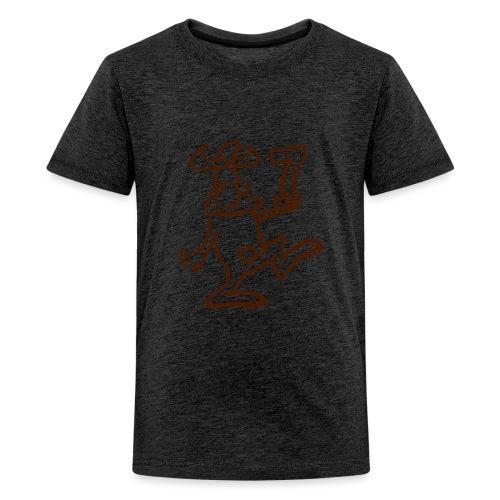 Siebter - Teenager Premium T-Shirt