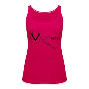 Muffens Media singlet: Pink - Women's Premium Tank Top