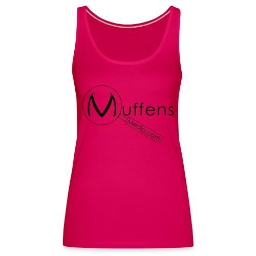 Muffens Media singlet: Pink - Women's Premium Tank Top