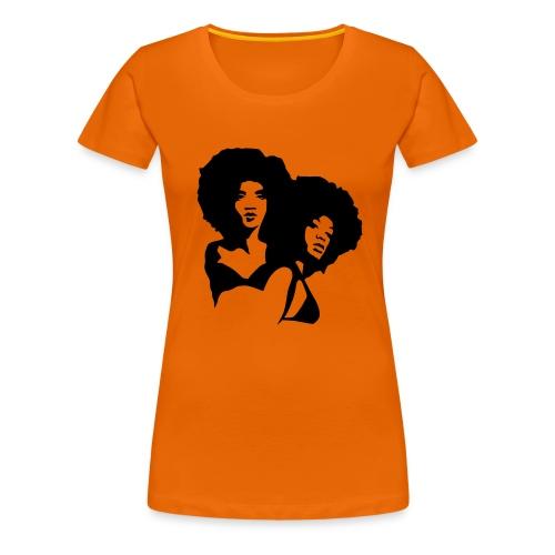 Afro - Girly - Women's Premium T-Shirt