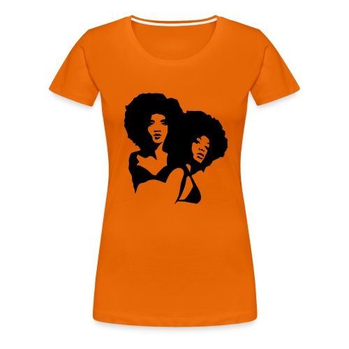 Afro - Girly - Women's Premium T-Shirt