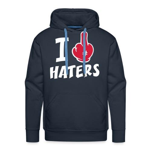 Haters Pullover - Männer Premium Hoodie