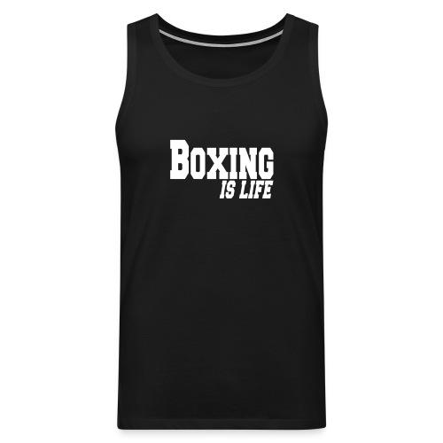 Shirt show muscle boxing is life - Canotta premium da uomo