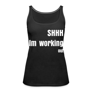 Work out - Women's Premium Tank Top