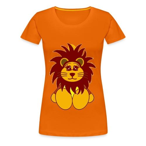 T shirt femme lion - T-shirt Premium Femme