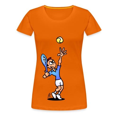 Tennis - Women's Premium T-Shirt
