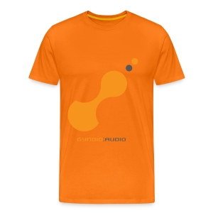 Gynoid Audio Special Orange - Men's Premium T-Shirt