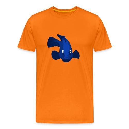 blauer Fisch - Männer Premium T-Shirt