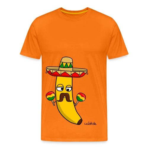 Gringo, die mexikanische Banane - Männer Premium T-Shirt