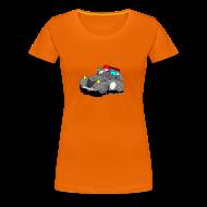 Tee shirts ~ T-shirt Premium Femme ~ 2cv GRISE