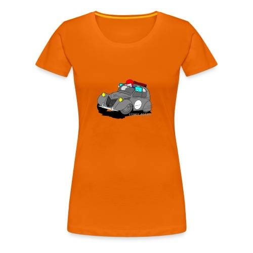 2cv GRISE - T-shirt Premium Femme