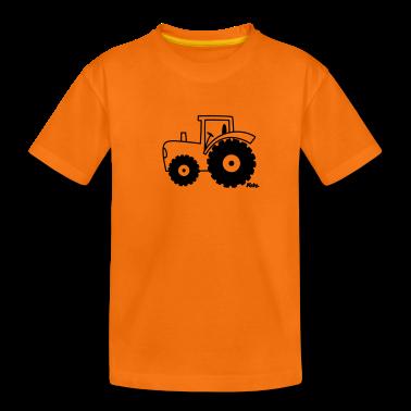 Traktor T-shirt bambini