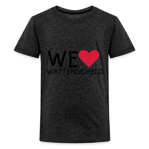 Kindershirt - WE ♥ WATTENSCHEID - Teenager Premium T-Shirt