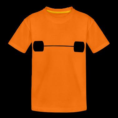 weightlifter sport gym Kinder shirts