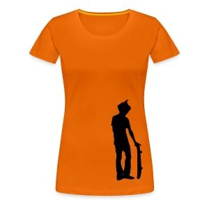 T-shirt Cupcake Skater Femme - T-shirt Premium Femme