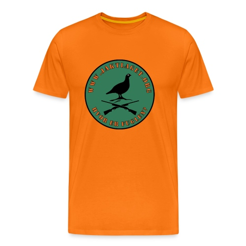 Jaktskjorte Steien - Premium T-skjorte for menn