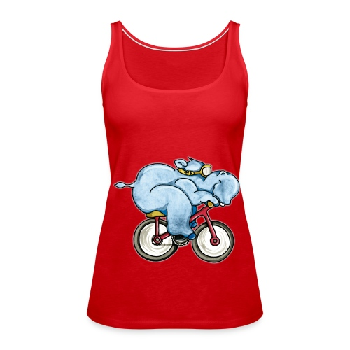 Camiseta de tirantes premium mujer