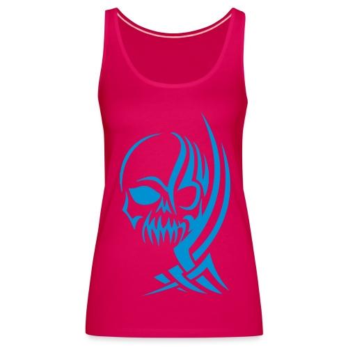 Bleach Inspired Tribal Skull Women's Vest  - Women's Premium Tank Top