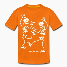 Dancing Skeletons Kids' Shirts