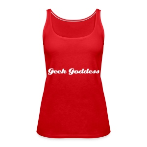 Geek Goddess - Women's Premium Tank Top