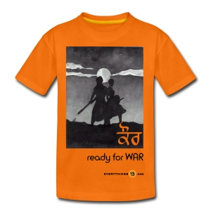 Kids' Kaur - ready for WAR - Teenage Premium T-Shirt
