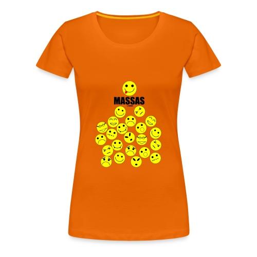 Massas - Vrouwen Premium T-shirt