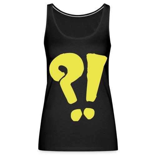 ?! vest - Women's Premium Tank Top