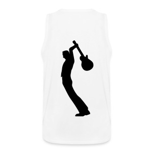 shred it muscle backside print - Männer Premium Tank Top
