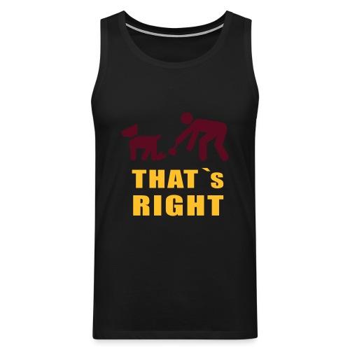Männer Shirt - Männer Premium Tank Top
