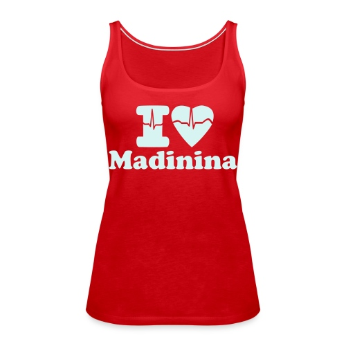 I LOVE MADININA MARTINIQUE - Women's Premium Tank Top