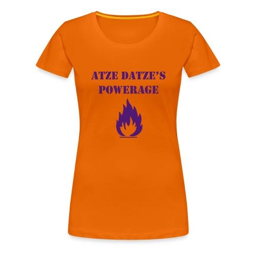 Frauen Premium T-Shirt - Super T-Shirt mit Flock-Qualitätsdruck