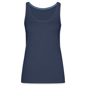 Vrouwen schoudervrije tank top - Vrouwen Premium tank top