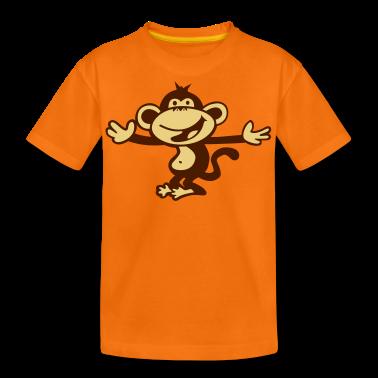 monkey orang utan primate Kids' Shirts