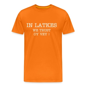 latkes homme orange - T-shirt Premium Homme