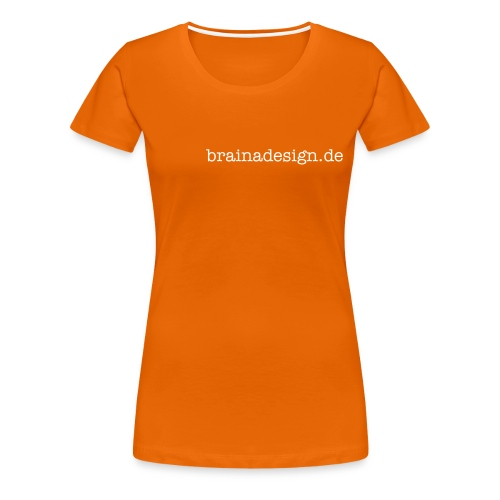 brainadesign.de - Frauen Premium T-Shirt