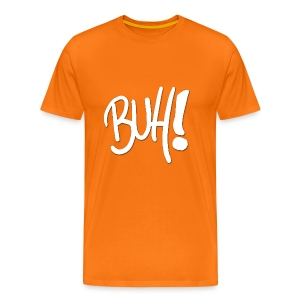 Buh! - Das ultimative Grusel Shirt - in Kürbisorange! - Männer Premium T-Shirt