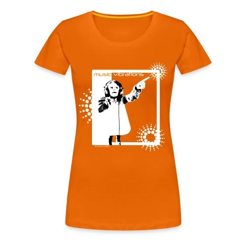 Music Vibrations - Women's Premium T-Shirt