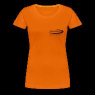 T-Shirts ~ Frauen Premium T-Shirt ~ TimeforNature-Shirt für Damen mit Logo