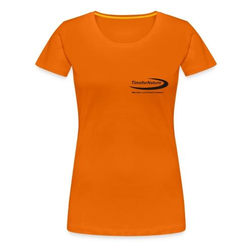TimeforNature-Shirt für Damen mit Logo  - Frauen Premium T-Shirt