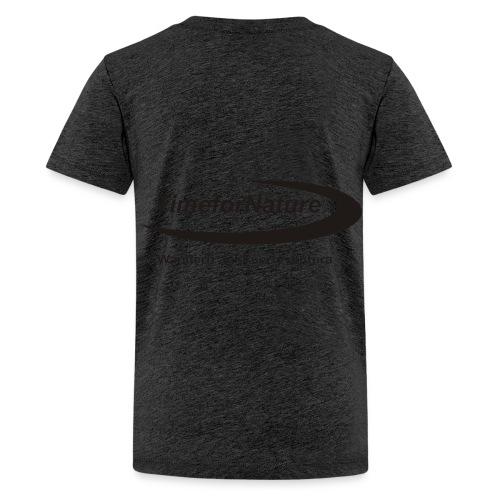 TimeforNature T-Shirt für Kid's  mit Logo rückseitig - Teenager Premium T-Shirt