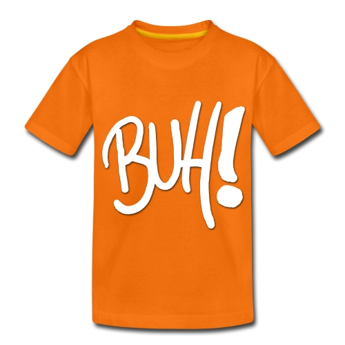 Buh! - Das ultimative Grusel Shirt - in Kürbisorange! - Teenager Premium T-Shirt