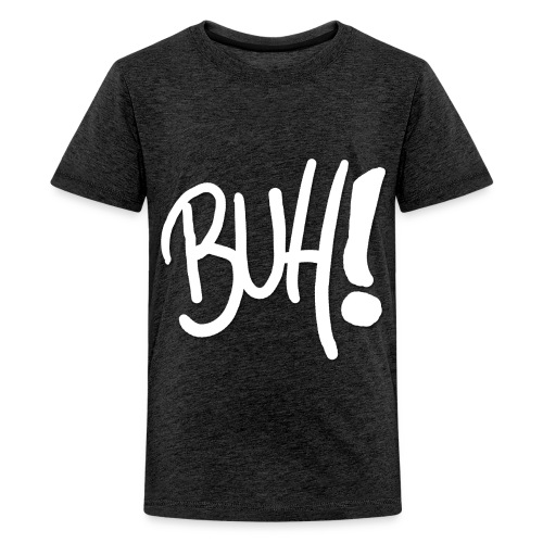 Buh! - Das ultimative Grusel Shirt - in Kürbisorange! - Teenager Premium T-Shirt