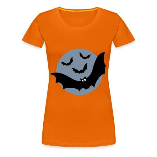 Fledermäuse - Frauen Premium T-Shirt