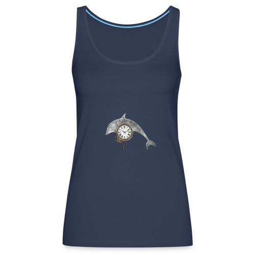 «Reloj-delfín» - Top - Camiseta de tirantes premium mujer